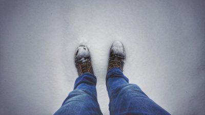 зима обувь