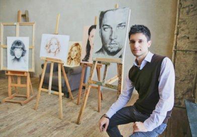 Художник из Днепра создает «съедобные» картины