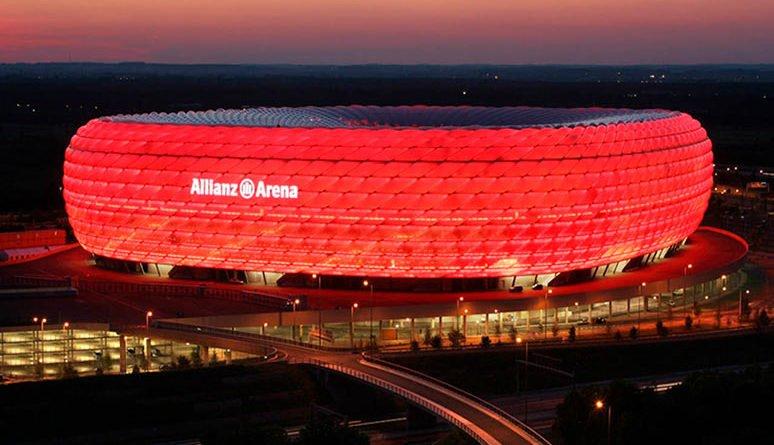 домашняя арена ФК Бавария
