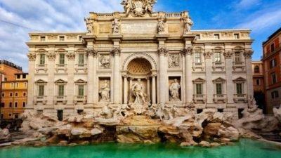 фонтан Треві_Рим