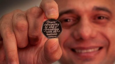 памятная монета_Британия