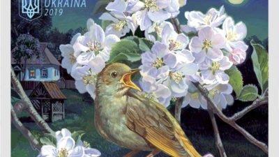 почтовая марка_птицы