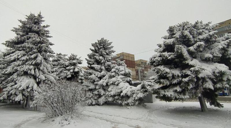 погода снег Днепр