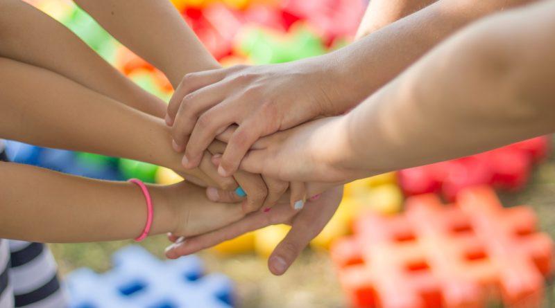 рука дети