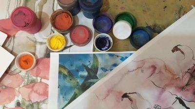 У Дніпрі закохані малювали сімейні картини (Фото)