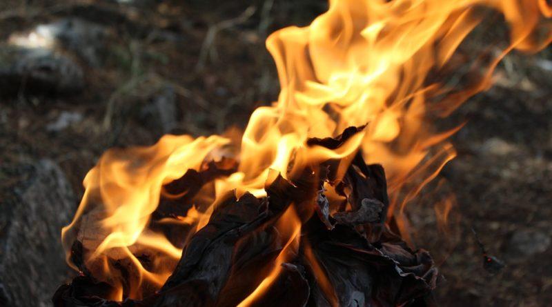 дым огонь