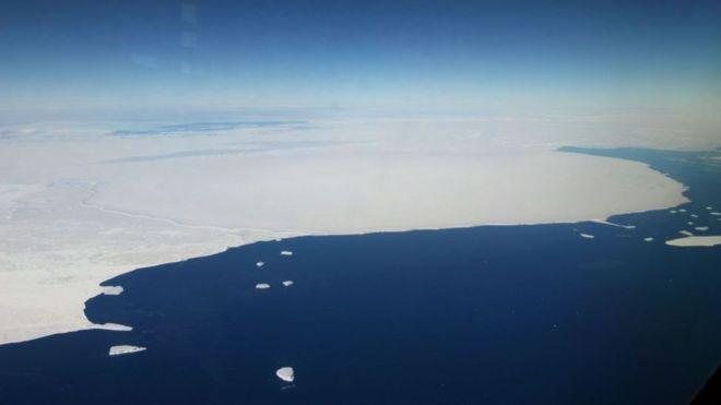 льодовий каньйон