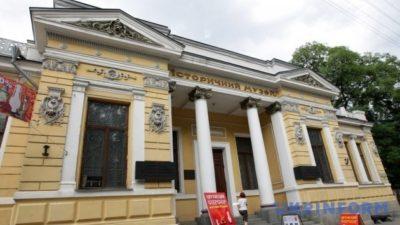 У музеї Дніпра знайшли замуроване приміщення (Фото)