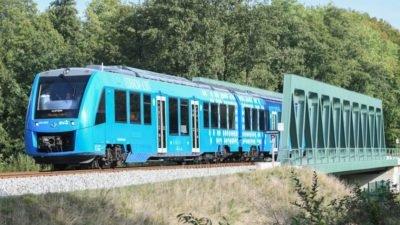 водородный поезд_Нидерланды