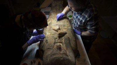 египетский саркофаг