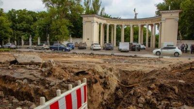 В історичному центрі Дніпра — масштабна реконструкція (Фото)