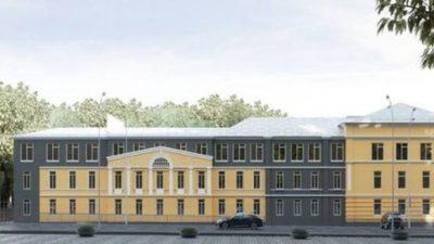 реконструкция гимназии 33