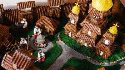 На Дніпропетровщині з'явився макет Чортомлицької Січі (Фото)