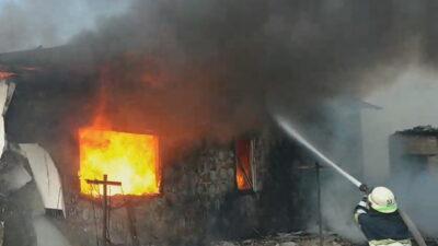 пожар в Елизаветовке