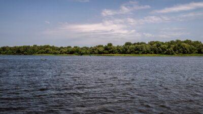 залив днепр