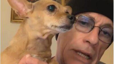 Известный актер спас щенка, которого хотели усыпить