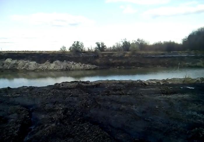 расчистка реки_Павлоградский район
