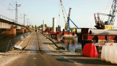 разрушенный мост_река Чертомлык