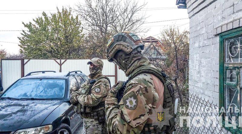 затримання злочинця_Дніпро