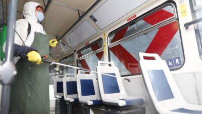дезінфекція громадського транспорта