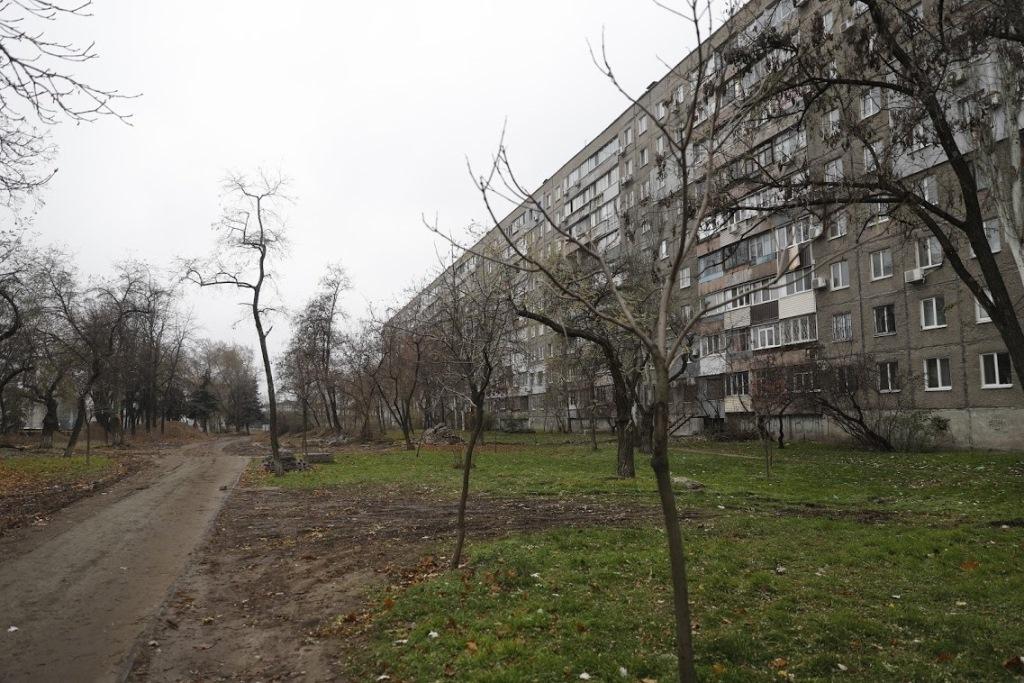 сквер на Слобожанському