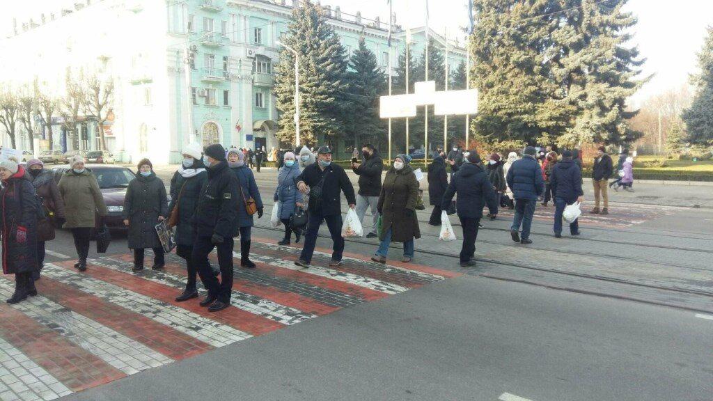 акция протеста_Каменское