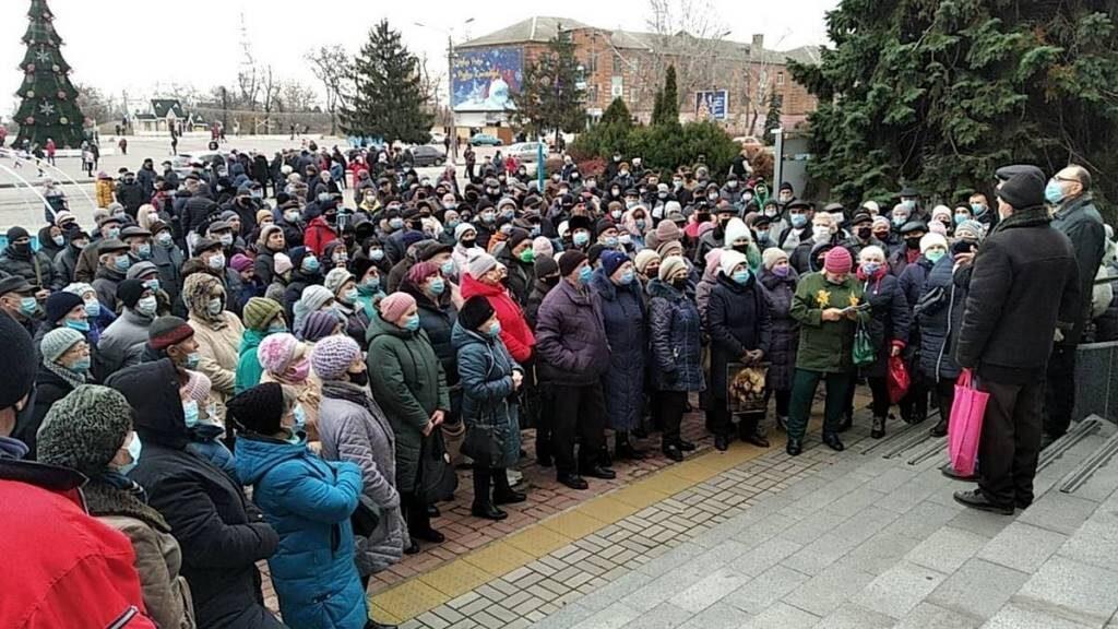 акция протеста_Никополь