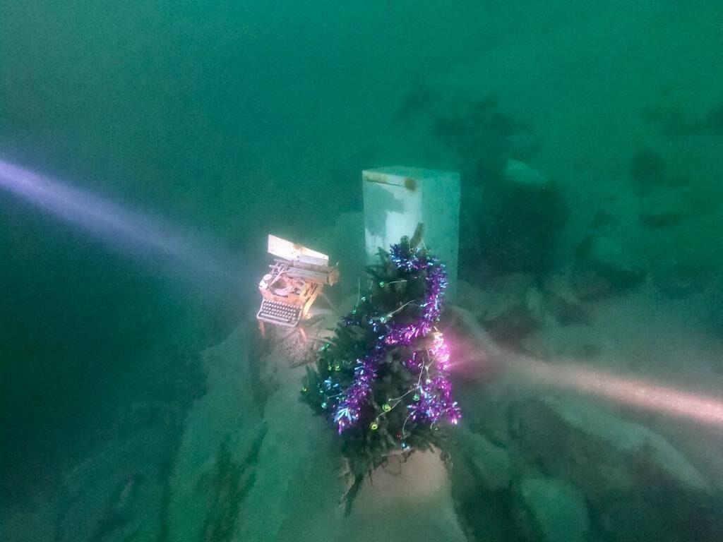 елка под водой_днепровские дайверы