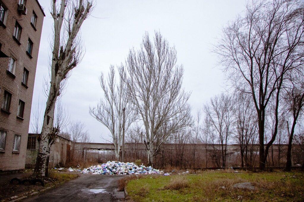 сміття у Дніпрі