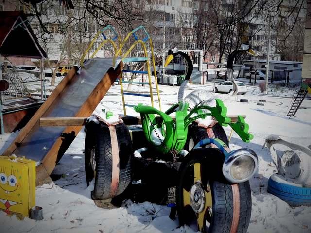 детский городок_Днепр