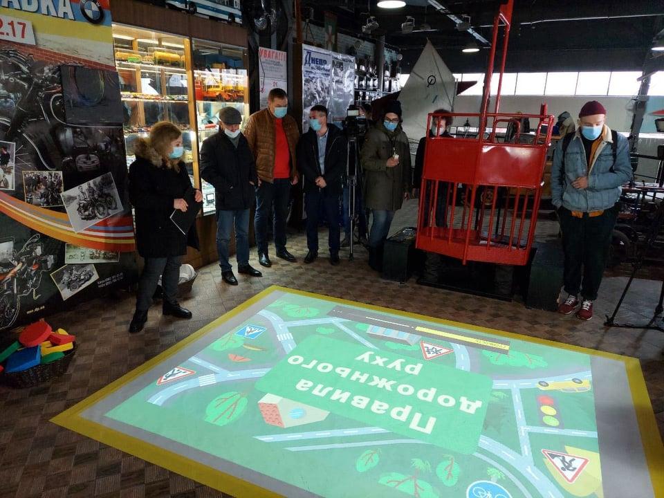 інтерактивна підлога_музей
