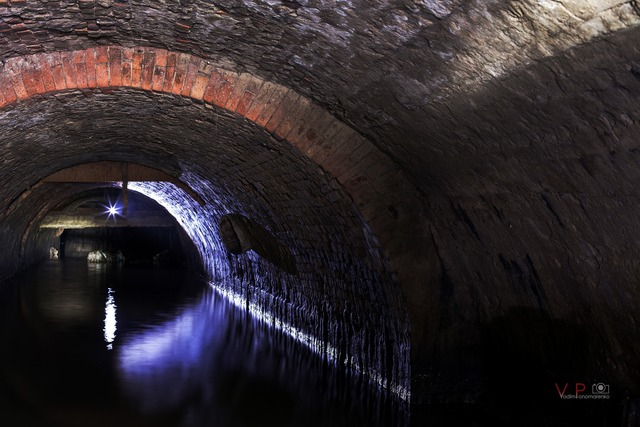 подземные мосты Днепра