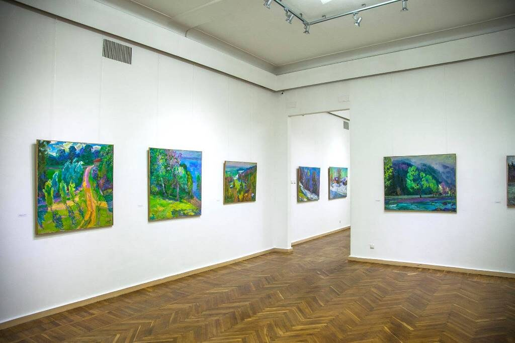 виставка Миколи Глущенка