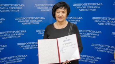 Світлана Назарчук_голова Синельниківської РДА
