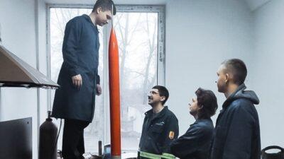 проект ракеты_студенты из Днепра