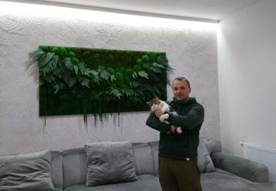Уникальные картины дизайнера из Днепра украшают дома знаменитостей (фото)