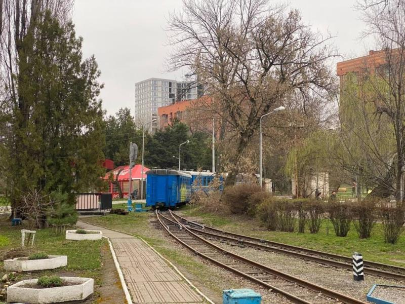 детская железная дорога_Днепр