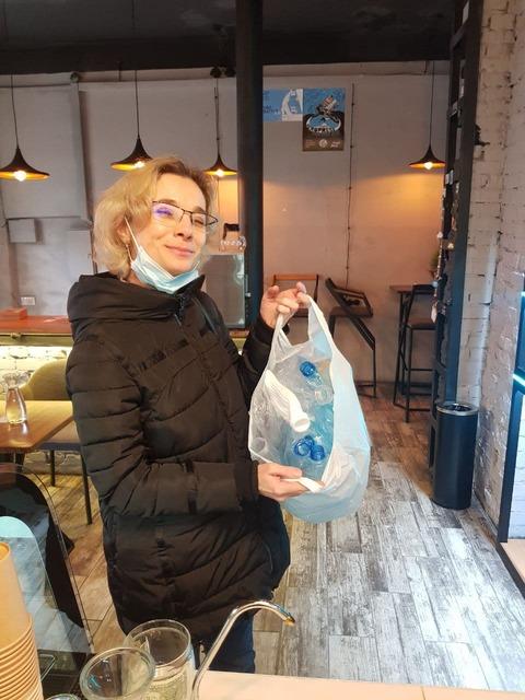 пластиковый мусор_кофе_Днепр