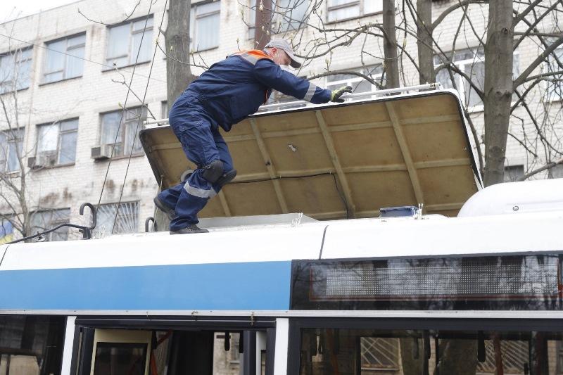 тролейбус_сервісне обслуговування