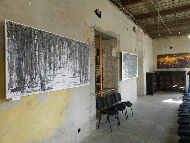 выставка Валерия Сосны_Днепр