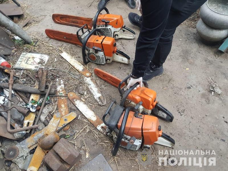 на Дніпропетровщині активізувались лісоруби