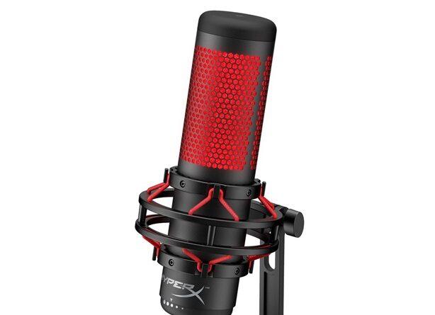микрофон QuadCast HyperX