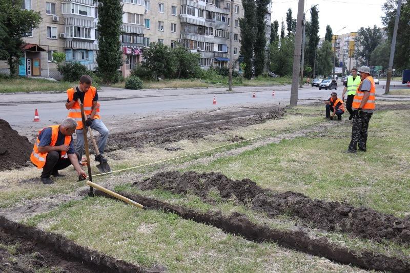 реконструкція проспекту Героїв_Дніпро