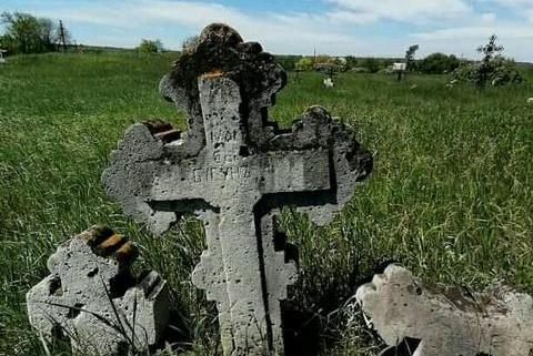 старинное кладбище_Солонянский район