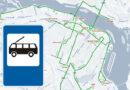 тролейбусні зупинки