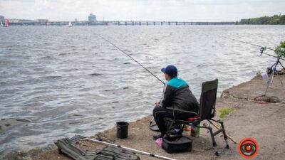 В Днепре прошел турнир по рыбной ловле (фото)