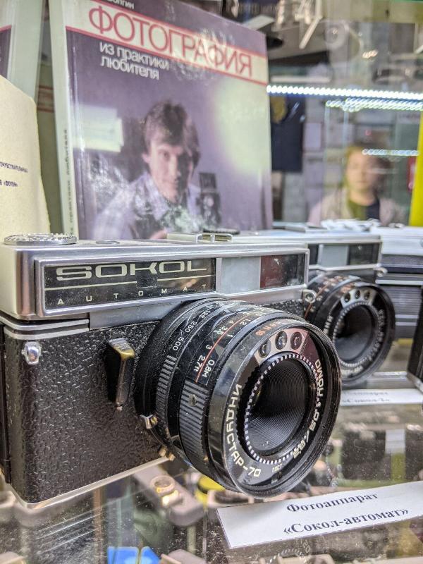 Аркадий Милькин_фотоаппараты