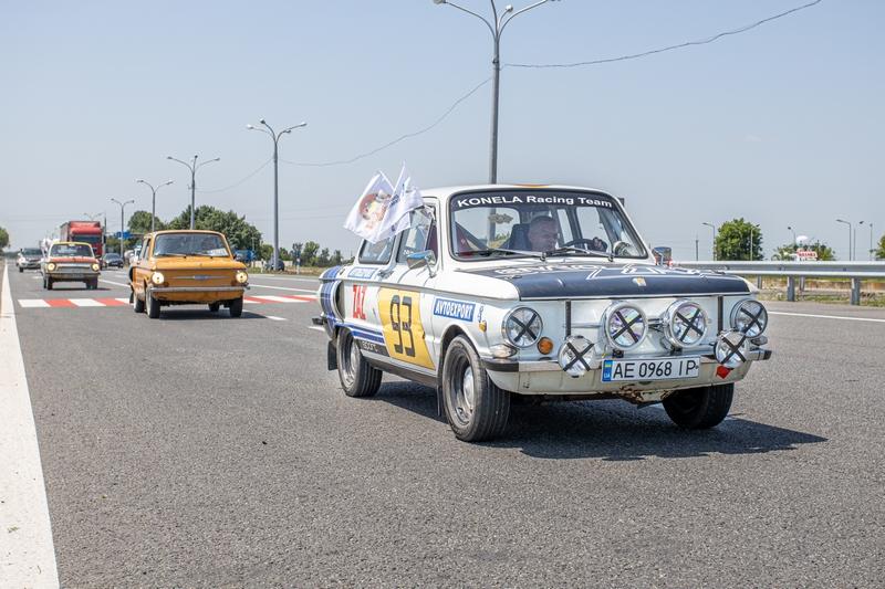 автопробег ретро-автомобилей