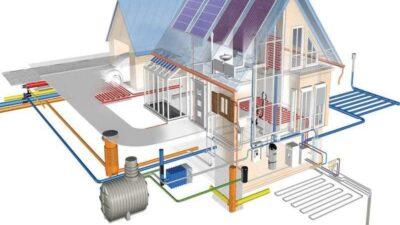 Как внедрить систему отопления, вентиляции и кондиционирования в доме и квартире