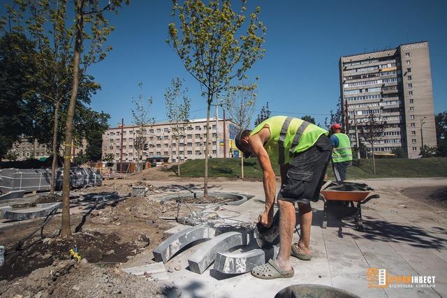 сквер на Слобожанском проспекте_Днепр